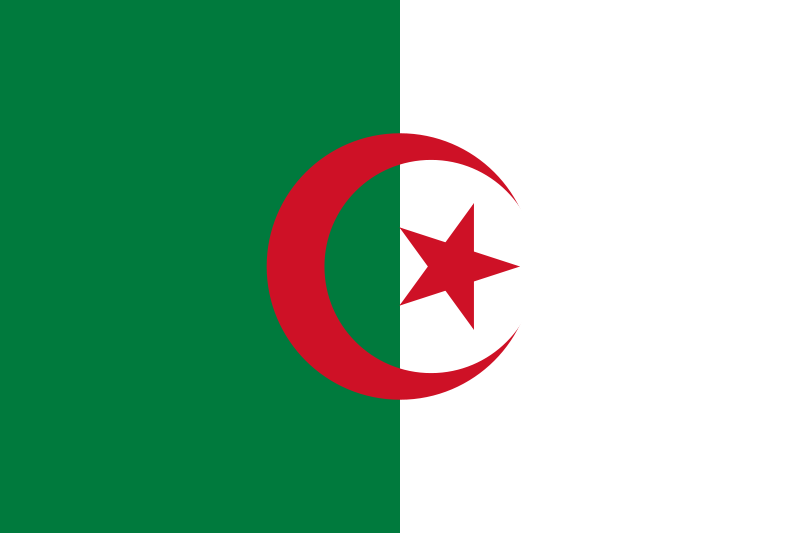 Algeria Official Flag