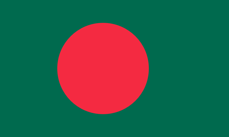 Bangladesh Official Flag