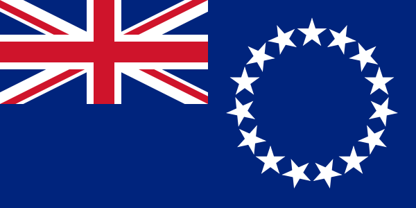 Cook Islands Official Flag