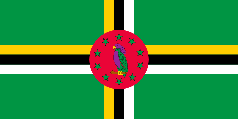 Dominica Official Flag