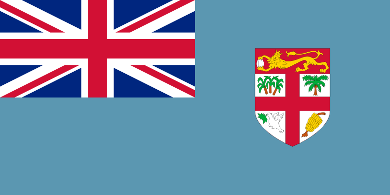 Fiji Official Flag