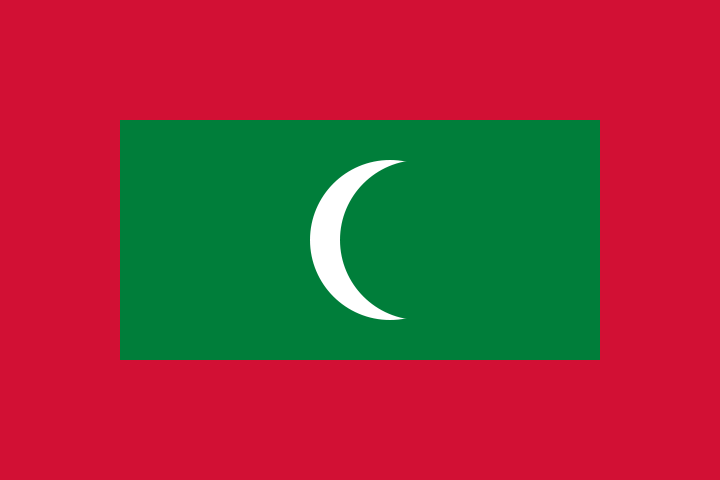 Maldives Official Flag