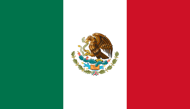 Mexico Official Flag