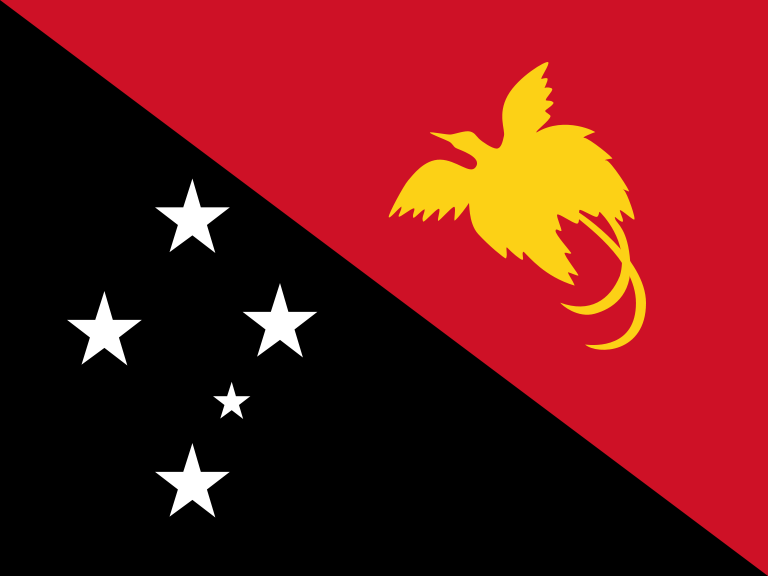 Papua New Guinea Official Flag