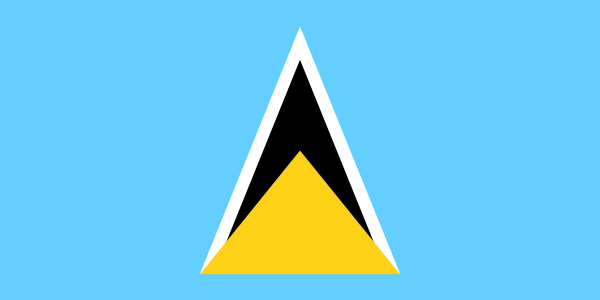 Saint Lucia Official Flag