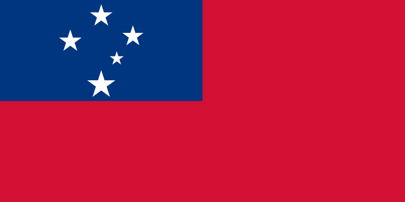 Samoa Official Flag