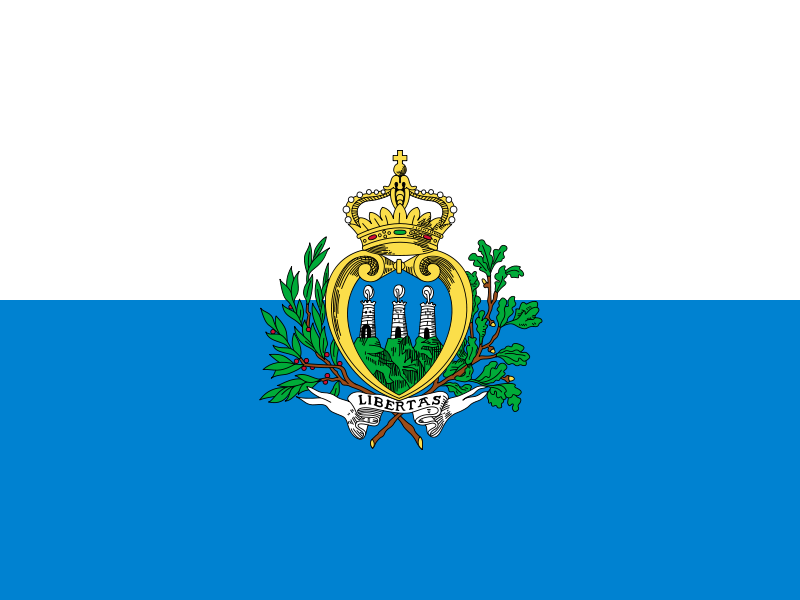 San Marino Official Flag