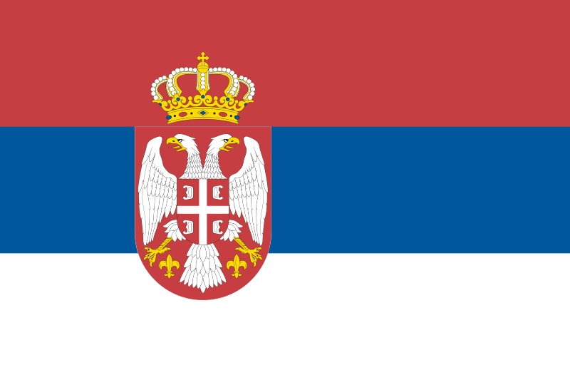 Serbia Official Flag