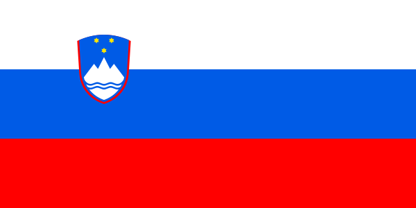 Slovenia Official Flag