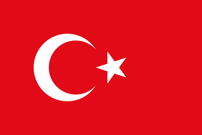 Turkey Official Flag